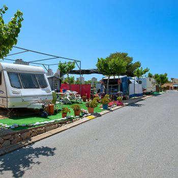 Camping en Benidorm con Parcelas para acampar