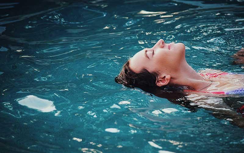 Relax en el camping con piscina climatizada