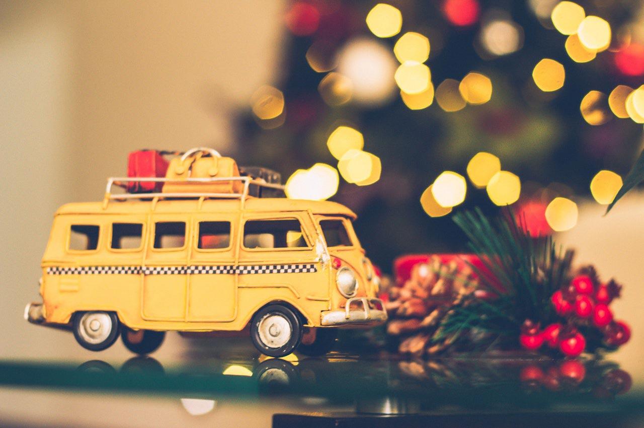 Viajar para una Navidad diferente