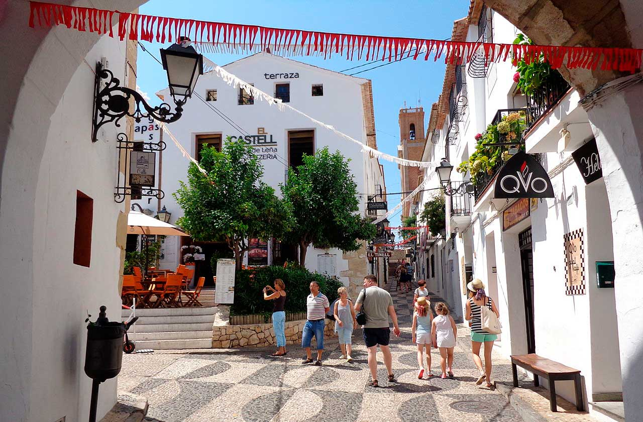 Altea during your Costa Blanca holidays
