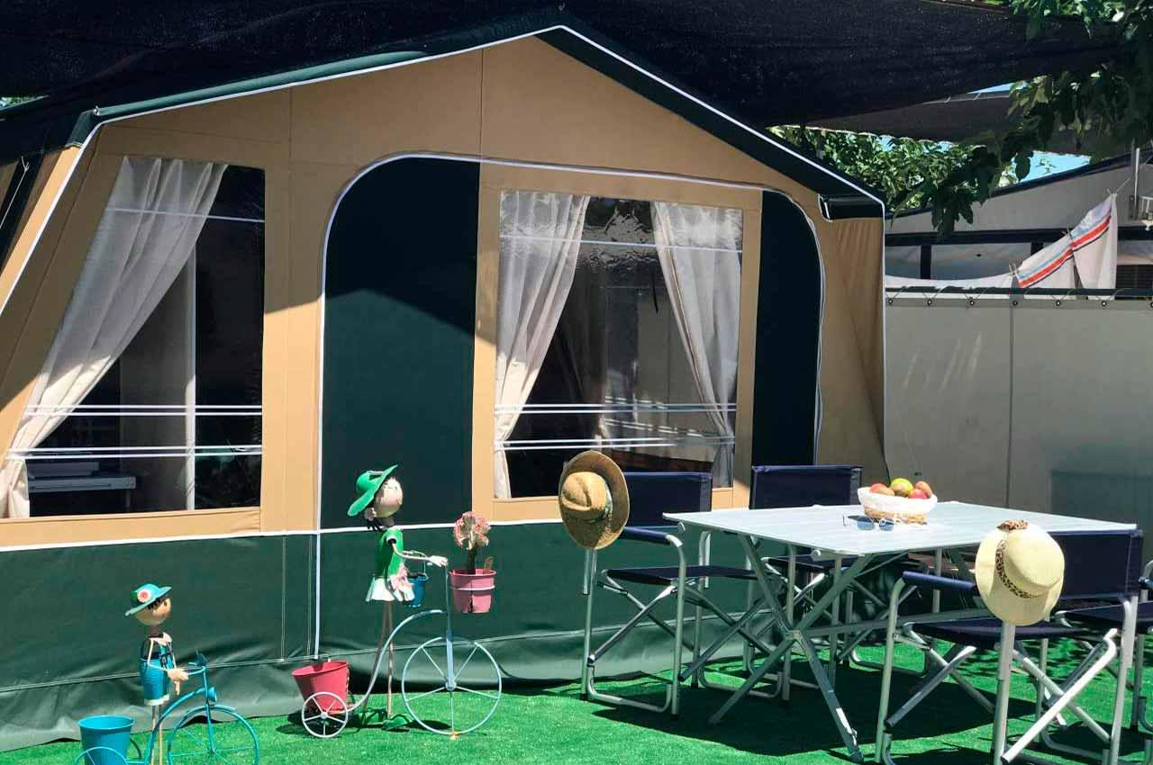 Alojamientos camping con niños