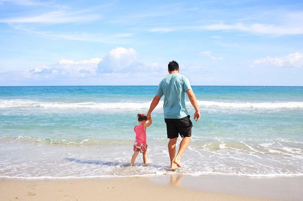 Actividades en familia en la playa