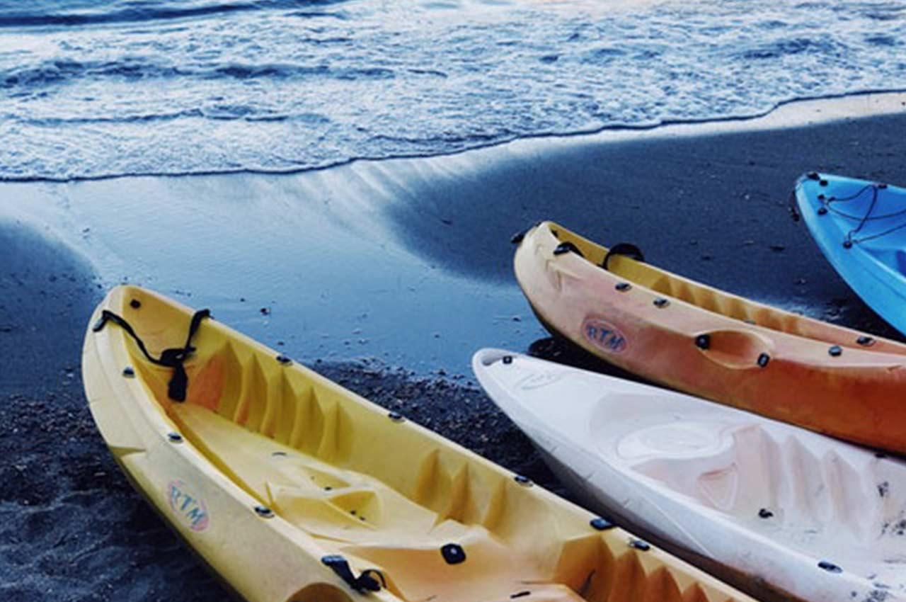 Planea una ruta en kayak