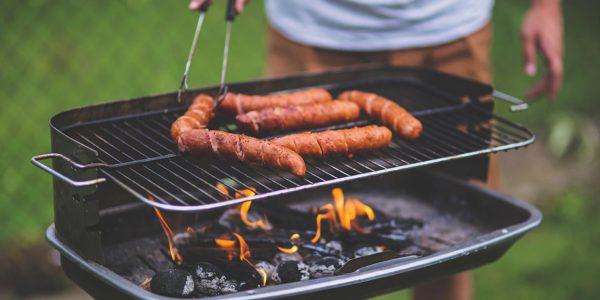 Barbacoa perfecta en el camping