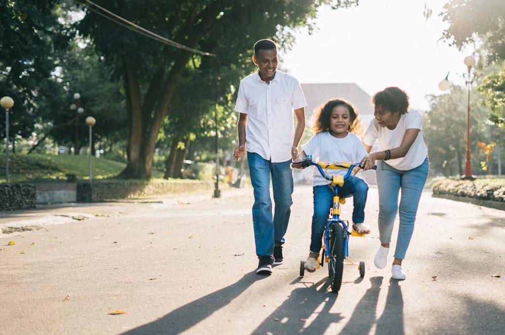 Familia en forma