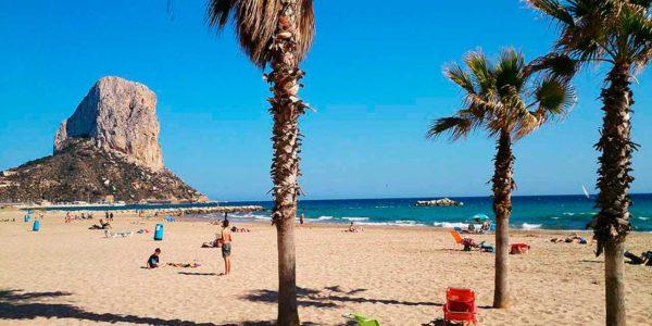 Pueblos de Alicante con playa   Camping Villasol