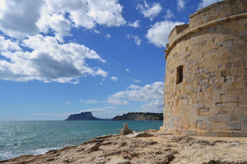Moraira, pueblo de Alicante con playa