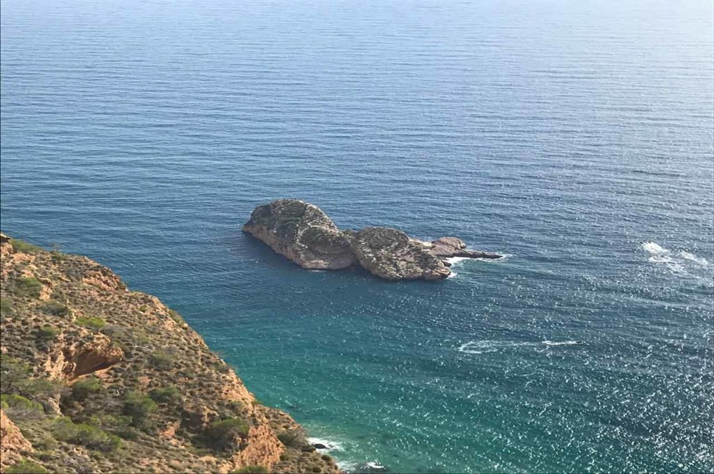 Isla Mediana en el camino por Sierra Helada