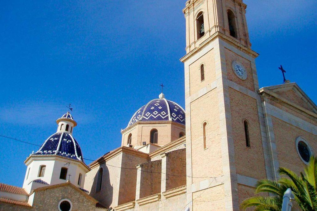 Iglesia para ver en Altea