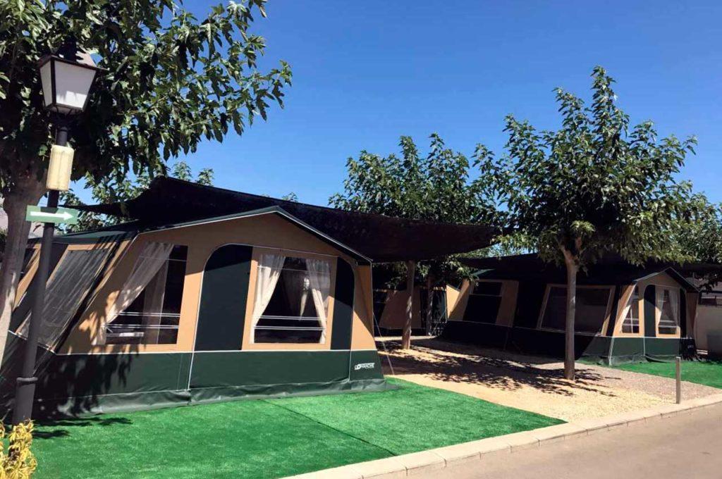 Alojamientos en Camping premium