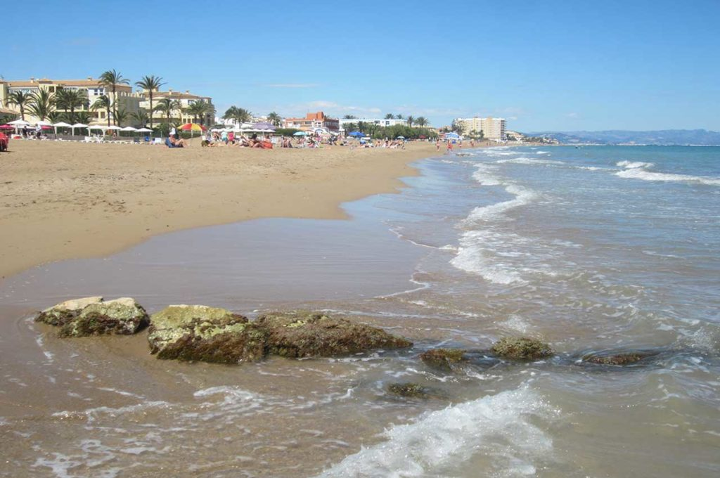 Swim at the beaches in Denia