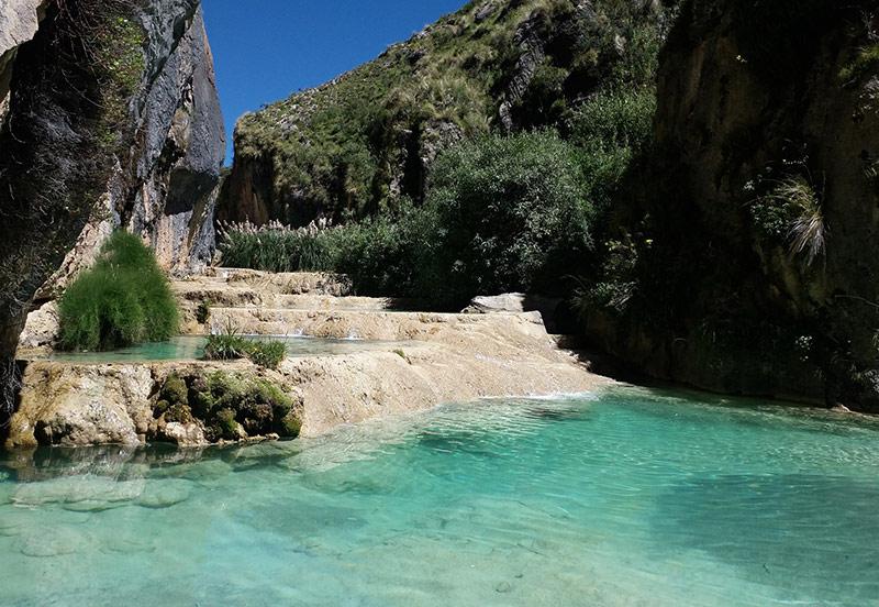 Piscinas naturales de Alicante Fuentes del Algar