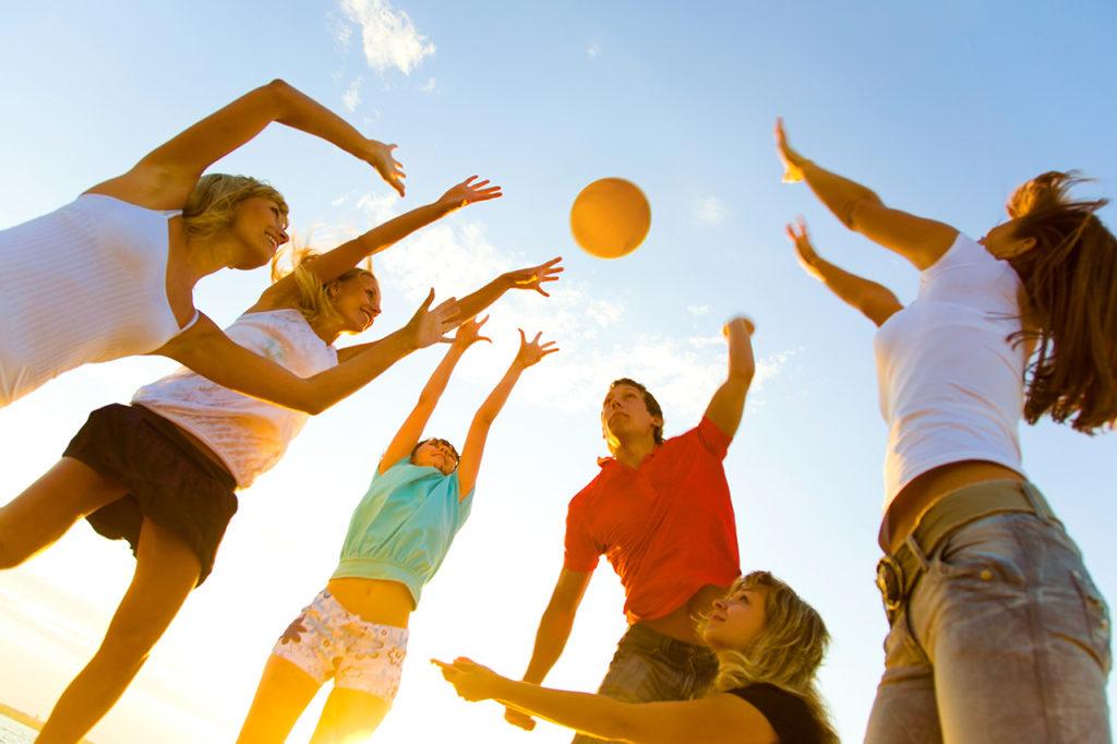 Deportes en Familia - Volley Playa