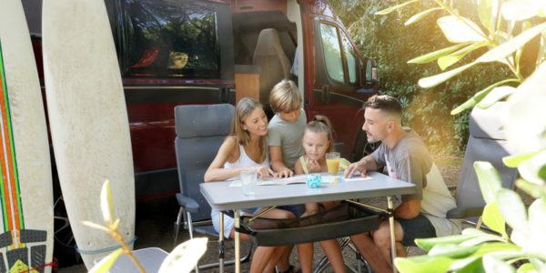 Viaje autocaravana en familia
