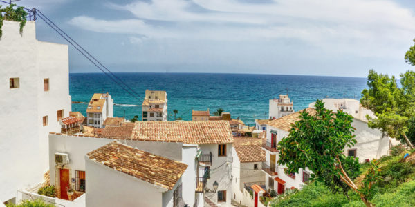 Vistas de Altea.